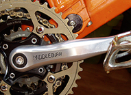 Middleburn RS7 ISIS Cranks & Chain Rings