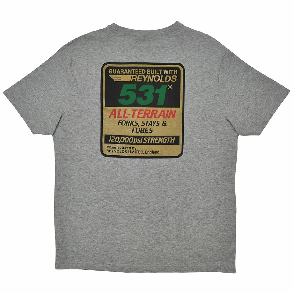 531 t-shirt All Terrain grey-back
