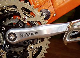 Middleburn RS7 Silver crankset