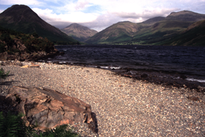 Wast Water on the Mountain bike coast to coast route