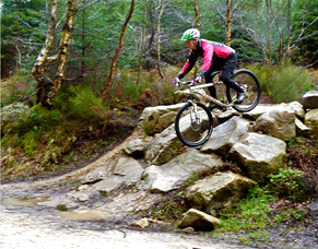 1 to 1 mountain bike skills coaching