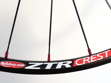 Wheel building service with CX Ray & NoTubes Crest