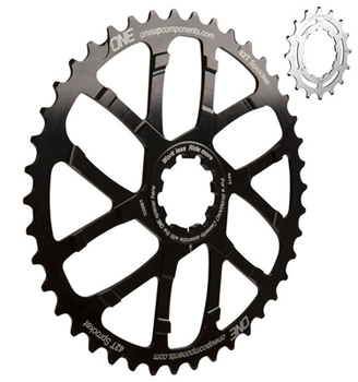 OneUp Components 42t & 16t sprockets
