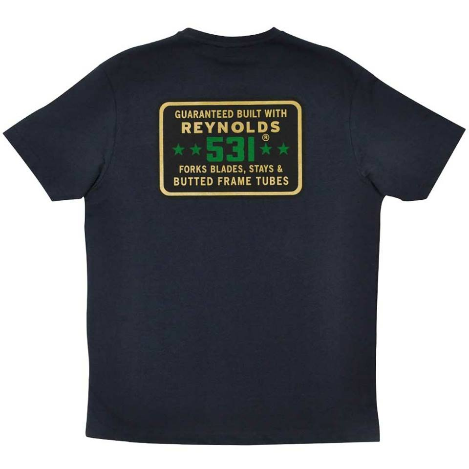 531 Stars t-shirt navy-back