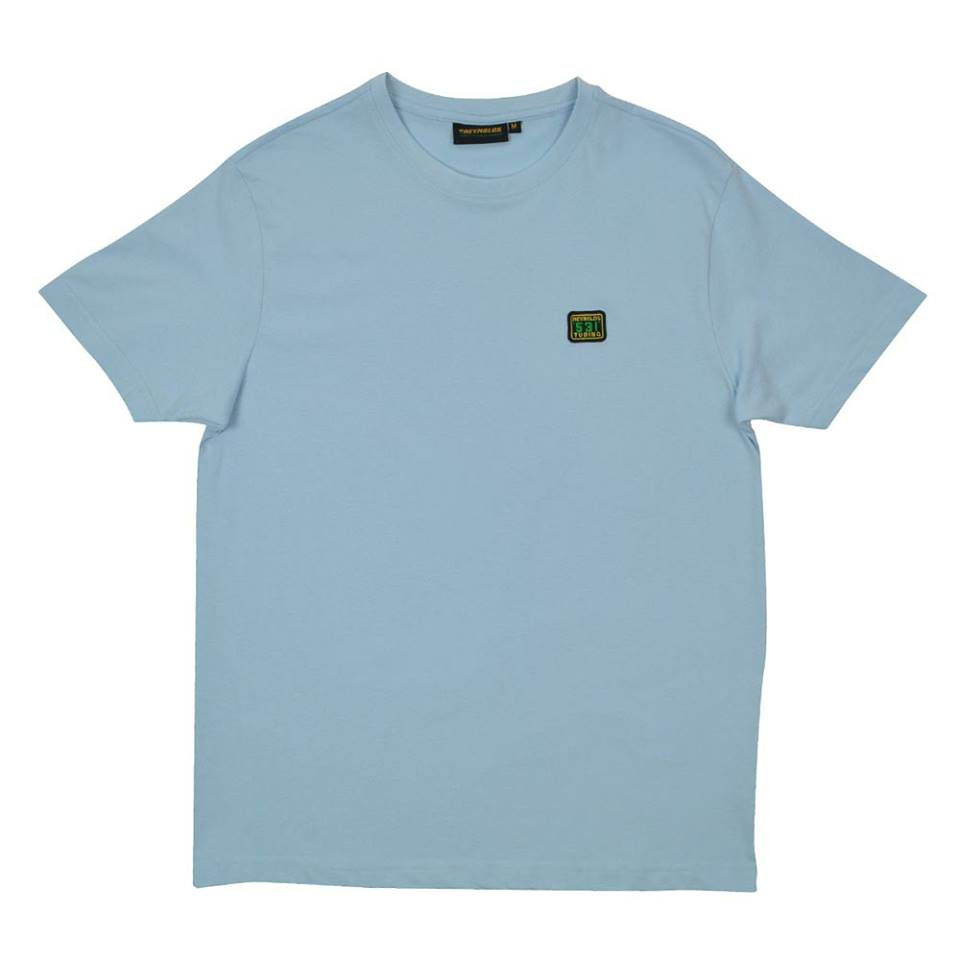 531 t-shirt embroidered Light Blue