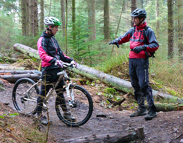 a 1 to 1 exclusive MTB coaching session